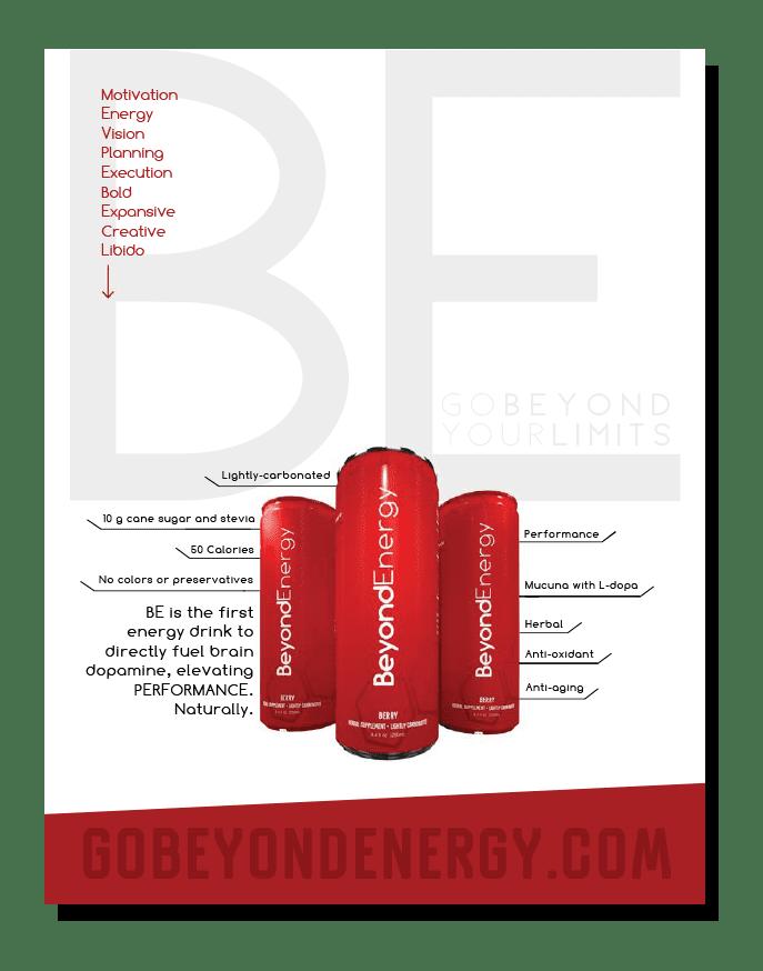 beyond energy poster design