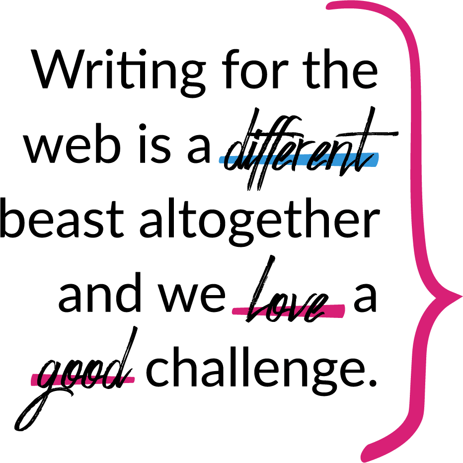 Web Content Writing and Development