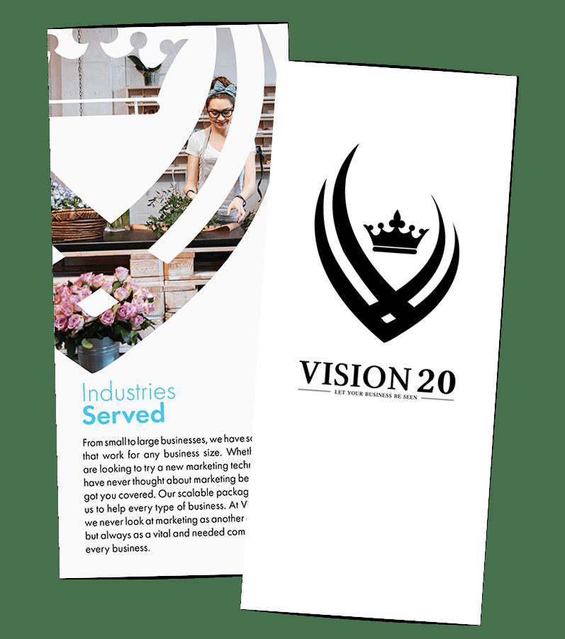 Creative 7 Designs Trifold Design: Vision 20