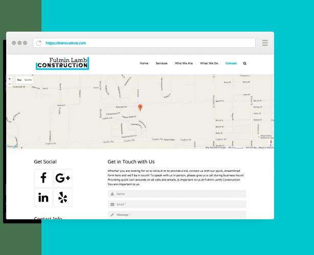 TI Renovations Website Design by Creative 7 Designs