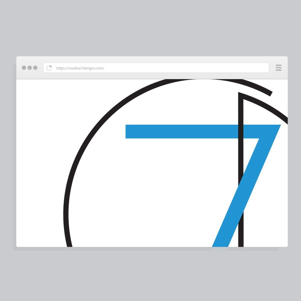 Creative 7 Designs Websites Portfolio
