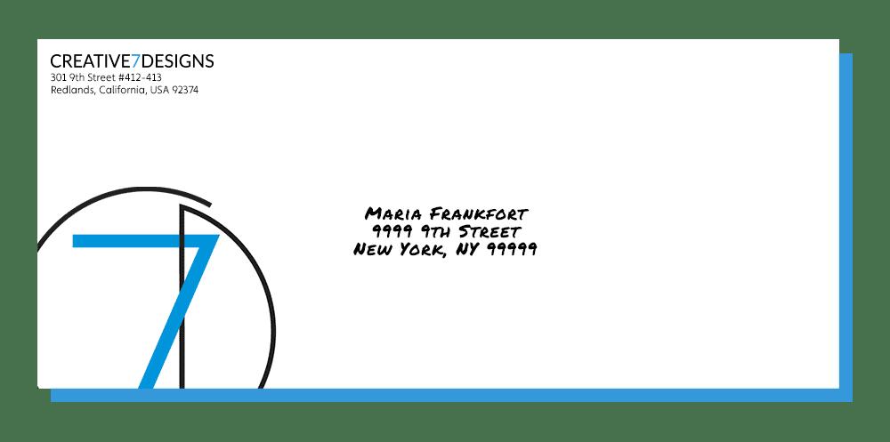 creative 7 designs envelope