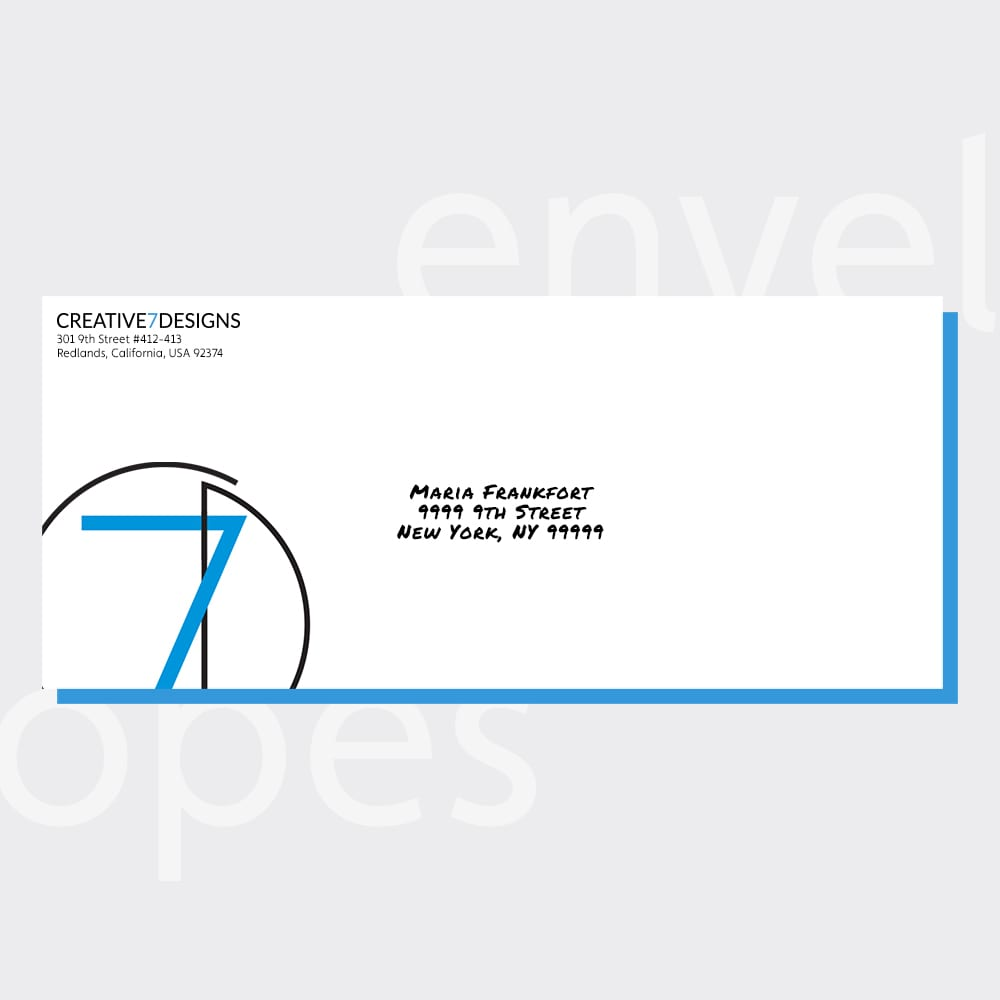 envelopes portfolio cover design