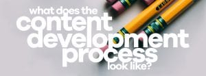 What does the content development Process look like Blog Cover