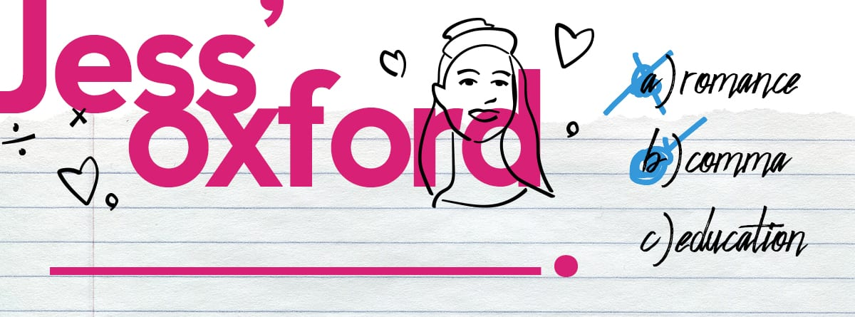 Jess' Oxford Comma