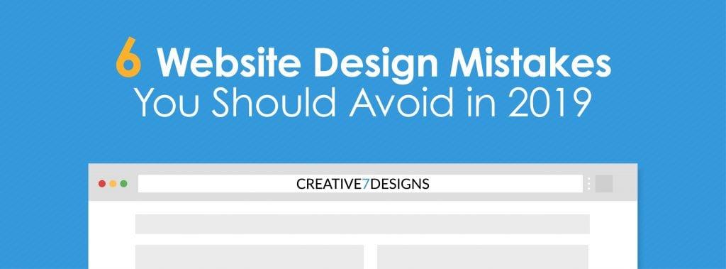 Website Design Mistakes
