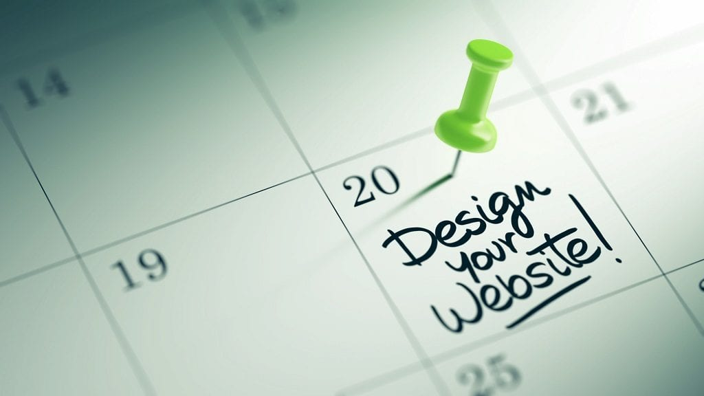 when to redesign website