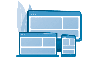 Responsive & Mobile Ready Website Design lines