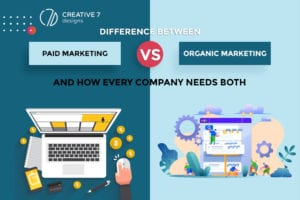 Organic marketing vs. paid marketing